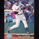 1997 Upper Deck Baseball #026 Roger Clemens - Boston Red Sox