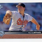 1997 Upper Deck Baseball #018 Randy Myers - Baltimore Orioles