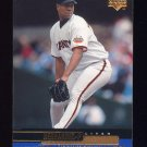 2000 Upper Deck Baseball #225 Livan Hernandez - San Francisco Giants