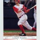 2002 Upper Deck Baseball #443 Aaron Boone - Cincinnati Reds