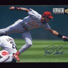1994 Collector's Choice Baseball Silver Signature #349 Barry Larkin TC - Cincinnati Reds