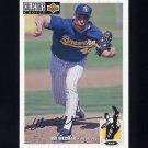 1994 Collector's Choice Baseball Silver Signature #289 Bill Wegman - Milwaukee Brewers