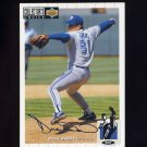1994 Collector's Choice Baseball Silver Signature #287 Duane Ward - Toronto Blue Jays