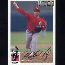 1994 Collector's Choice Baseball Silver Signature #229 Mike Perez - St. Louis Cardinals