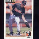 1994 Collector's Choice Baseball Silver Signature #224 Mike Pagliarulo - Baltimore Orioles