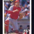 1994 Collector's Choice Baseball Silver Signature #220 Joe Oliver - Cincinnati Reds