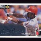 1994 Collector's Choice Baseball Silver Signature #116 Willie Greene - Cincinnati Reds
