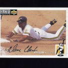 1994 Collector's Choice Baseball Silver Signature #078 Dave Clark - Pittsburgh Pirates