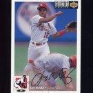 1994 Collector's Choice Baseball Silver Signature #032 Luis Alicea - St. Louis Cardinals