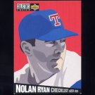 1994 Collector's Choice Baseball #320 Nolan Ryan CL - Texas Rangers Ex-ExMt