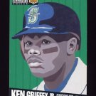 1994 Collector's Choice Baseball #317 Ken Griffey Jr. CL - Seattle Mariners