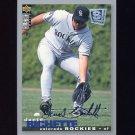 1995 Collector's Choice SE Baseball Silver Signature #209 Dante Bichette - Colorado Rockies