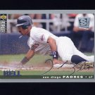1995 Collector's Choice SE Baseball Silver Signature #165 Derek Bell - San Diego Padres