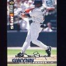 1995 Collector's Choice SE Baseball Silver Signature #160 Tony Gwynn - San Diego Padres