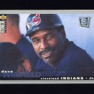 1995 Collector's Choice SE Baseball Silver Signature #115 Dave Winfield - Cleveland Indians