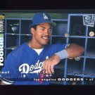 1995 Collector's Choice SE Baseball Silver Signature #095 Raul Mondesi - Los Angeles Dodgers