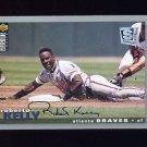 1995 Collector's Choice SE Baseball Silver Signature #061 Roberto Kelly - Atlanta Braves