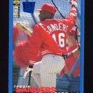 1995 Collector's Choice SE Baseball #202 Reggie Sanders - Cincinnati Reds