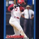 1995 Collector's Choice SE Baseball #199 Deion Sanders - Cincinnati Reds