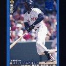 1995 Collector's Choice SE Baseball #195 Andre Dawson - Boston Red Sox