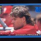 1995 Collector's Choice SE Baseball #171 Darren Daulton - Philadelphia Phillies