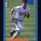 1995 Collector's Choice SE Baseball #154 Brady Anderson - Baltimore Orioles