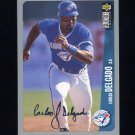1996 Collector's Choice Baseball Silver Signature #352 Carlos Delgado - Toronto Blue Jays