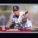 1996 Collector's Choice Baseball Silver Signature #076 Brian Anderson - California Angels
