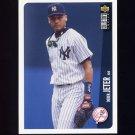 1996 Collector's Choice Baseball #231 Derek Jeter - New York Yankees