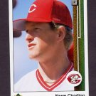1989 Upper Deck Baseball #783 Norm Charlton RC - Cincinnati Reds