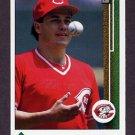 1989 Upper Deck Baseball #449 Frank Williams - Cincinnati Reds