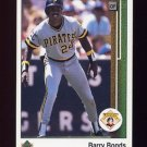 1989 Upper Deck Baseball #440 Barry Bonds - San Francisco Giants