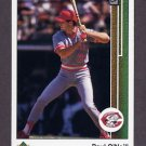 1989 Upper Deck Baseball #428 Paul O'Neill - Cincinnati Reds