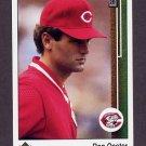 1989 Upper Deck Baseball #287 Ron Oester - Cincinnati Reds