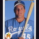 1990 Upper Deck Baseball #045 Bob Hamelin RC - Kansas City Royals