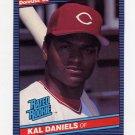 1986 Donruss Baseball #027 Kal Daniels RC - Cincinnati Reds