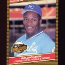 1986 Donruss Highlights Baseball #43 Bo Jackson - Kansas City Royals