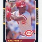 1987 Donruss Baseball #265 Eric Davis - Cincinnati Reds
