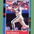 1988 Donruss Baseball #308 Ken Caminiti RC - Houston Astros