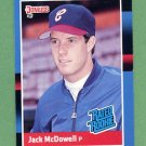 1988 Donruss Baseball #047 Jack McDowell RC - Chicago White Sox ExMt