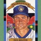 1988 Donruss Baseball #007 Paul Molitor DK - Milwaukee Brewers