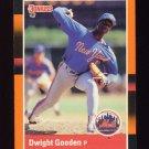 1988 Donruss Baseball's Best #096 Dwight Gooden - New York Mets