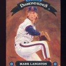 1992 Donruss Baseball Diamond Kings #DK20 Mark Langston - California Angels