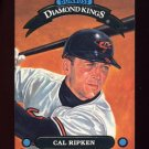 1992 Donruss Baseball Diamond Kings #DK05 Cal Ripken - Baltimore Orioles