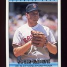1992 Donruss Baseball Bonus Cards #BC3 Roger Clemens CY - Boston Red Sox