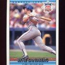 1992 Donruss Baseball #429 Ryne Sandberg AS - Chicago Cubs