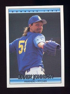 1994 Topps Gold 290 Randy Johnson  Seattle Mariners