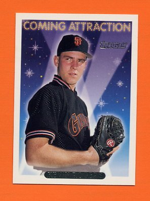 1993 Topps Gold Baseball #822 Kevin Rogers - San Francisco Giants