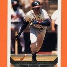 1993 Topps Gold Baseball #795 Deion Sanders - Atlanta Braves