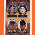 1993 Topps Gold Baseball #786 Mike Christopher / Ken Ryan / Aaron Taylor / Gus Gandarillas RC